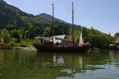 Bootfahrt am Alpsee 74