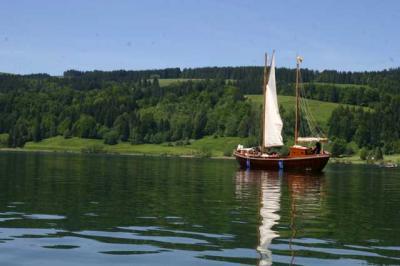 Bootfahrt am Alpsee 75