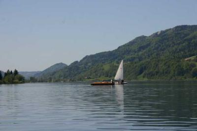 Bootfahrt am Alpsee 83
