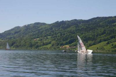 Bootfahrt am Alpsee 86