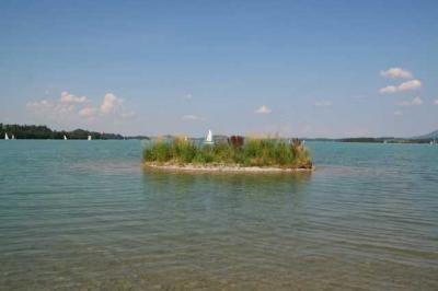 Der Forggensee bei Fuessen 17