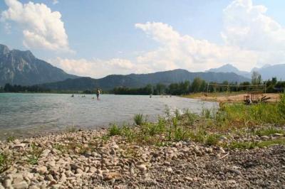 Der Forggensee bei Fuessen 24