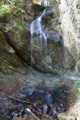 Der Wirtatobel Wasserfall 10