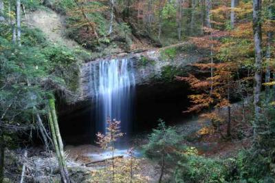 Der Wirtatobel Wasserfall 1