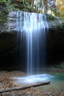 Der Wirtatobel Wasserfall 2