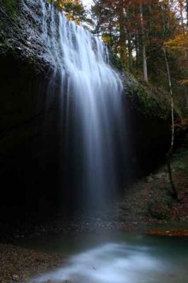 Der Wirtatobel Wasserfall 4