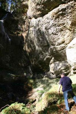 Der Wirtatobel Wasserfall 8