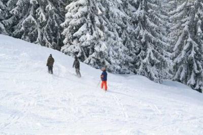 Skifahren Gruenten 12