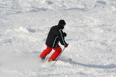 Skifahren Gruenten 17