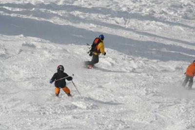 Skifahren Gruenten 19