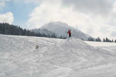 Skifahren Gruenten 24
