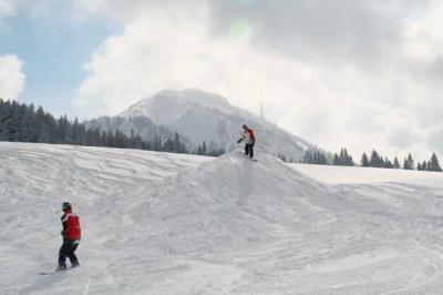 Skifahren Gruenten 25