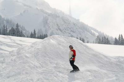 Skifahren Gruenten 26
