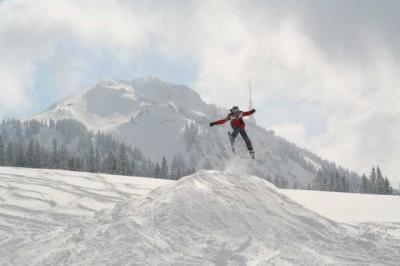 Skifahren Gruenten 28