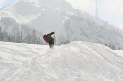 Skifahren Gruenten 30