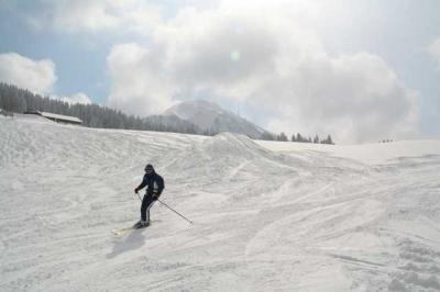 Skifahren Gruenten 32
