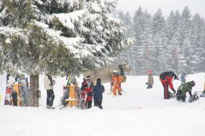 Skifahren Gruenten 33