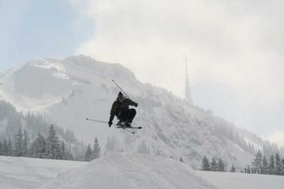 Skifahren Gruenten 35