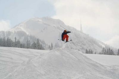 Skifahren Gruenten 36