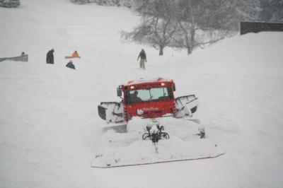 Skifahren Gruenten 40