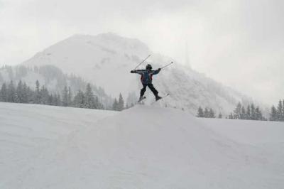 Skifahren Gruenten 42