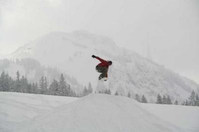 Skifahren Gruenten 43