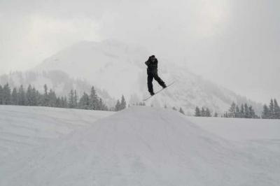 Skifahren Gruenten 44