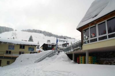 Skifahren Gruenten 4