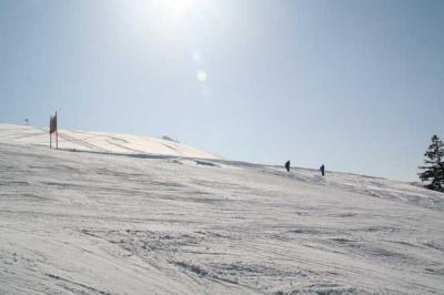 Skifahren Gruenten 55