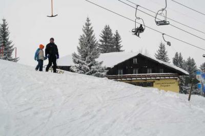 Skifahren Gruenten 5