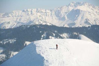 Skifahren Gruenten 62