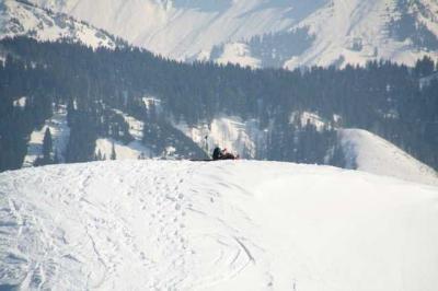 Skifahren Gruenten 63