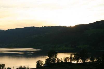 Sonnenuntergang Alpsee 12