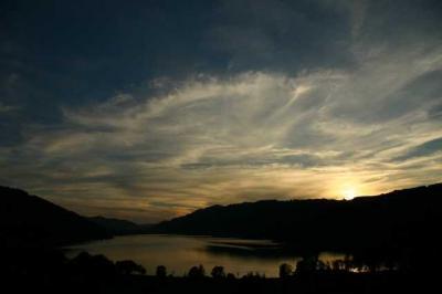 Sonnenuntergang Alpsee 13