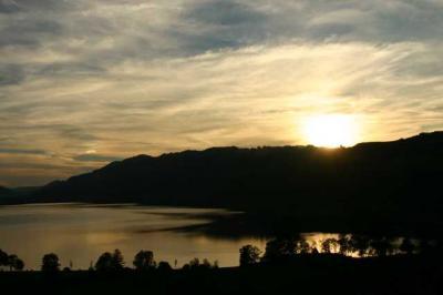 Sonnenuntergang Alpsee 16