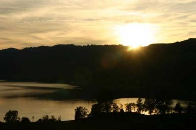 Sonnenuntergang Alpsee 17