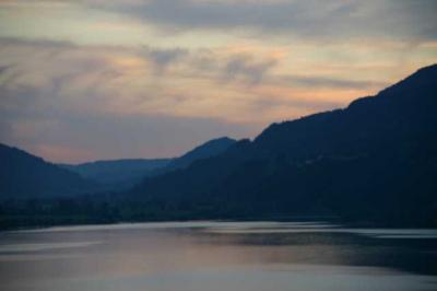 Sonnenuntergang Alpsee 2