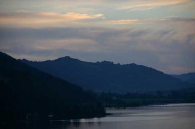 Sonnenuntergang Alpsee 6