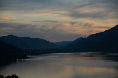Sonnenuntergang Alpsee 7