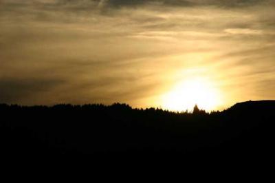 Sonnenuntergang Alpsee 8