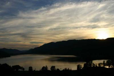 Sonnenuntergang Alpsee 9